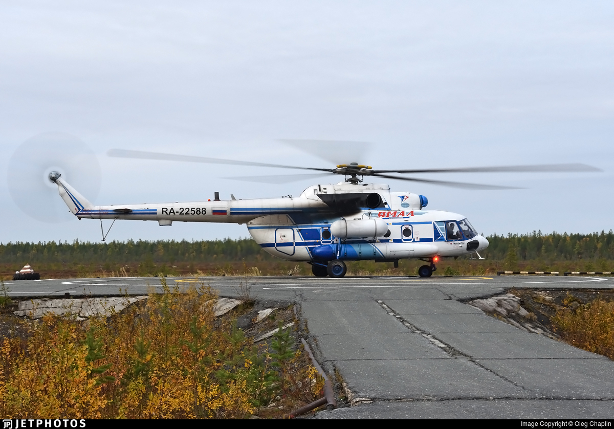 RA-22588 - Mil Mi-8MTV-1 - Yamal Airlines