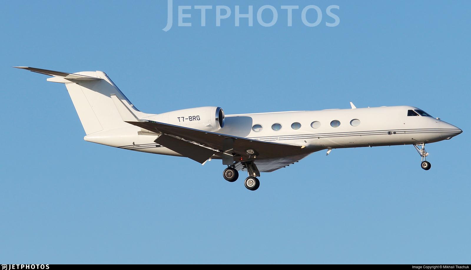 T7-BRG - Gulfstream G450 - Private