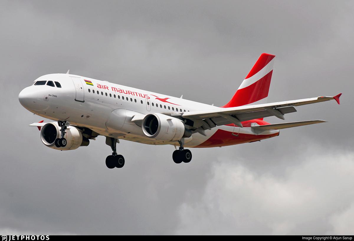 3B-NBF - Airbus A319-112 - Air Mauritius