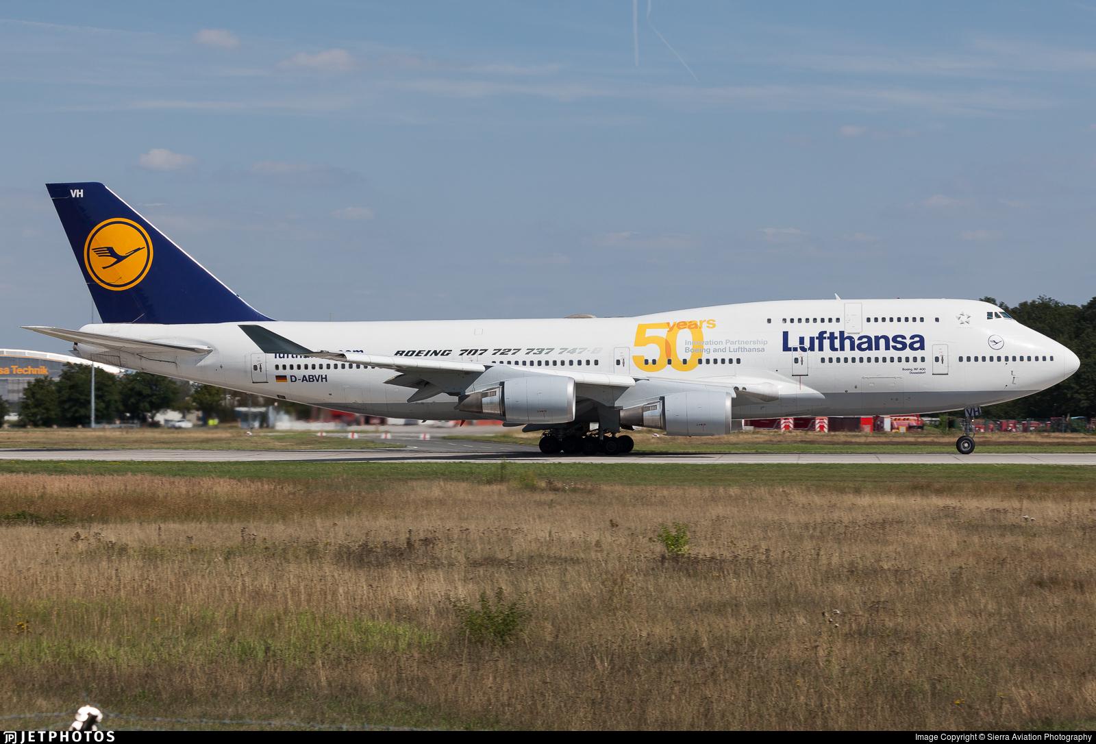 D-ABVH - Boeing 747-430 - Lufthansa