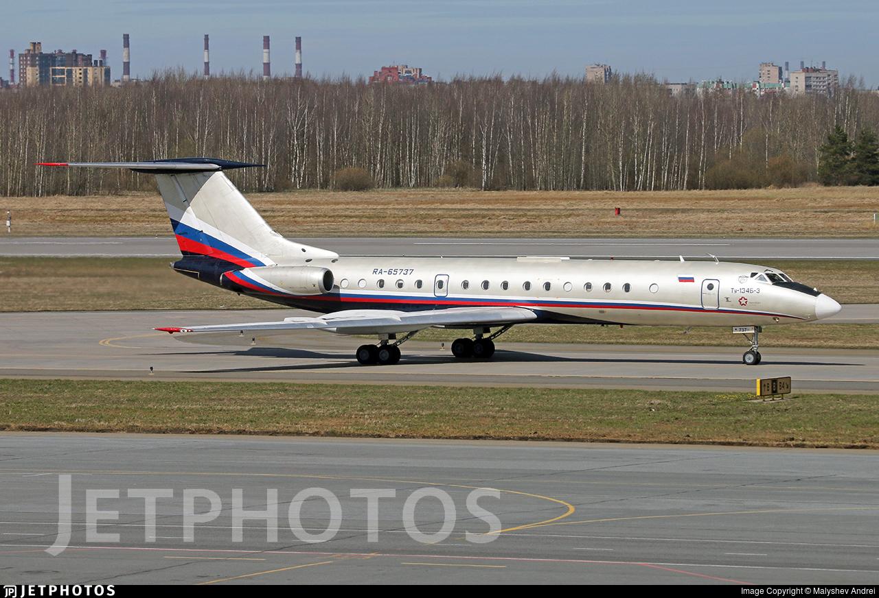 RA-65737 - Tupolev Tu-134B-3 - Meridian Air
