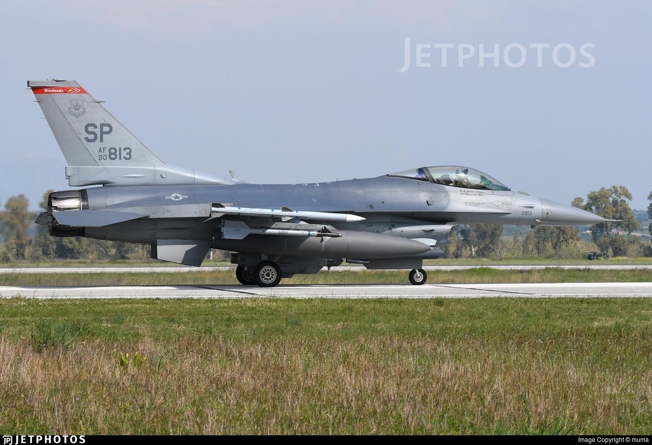 90-0813 - Lockheed Martin F-16C Fighting Falcon - United States - US Air Force (USAF)
