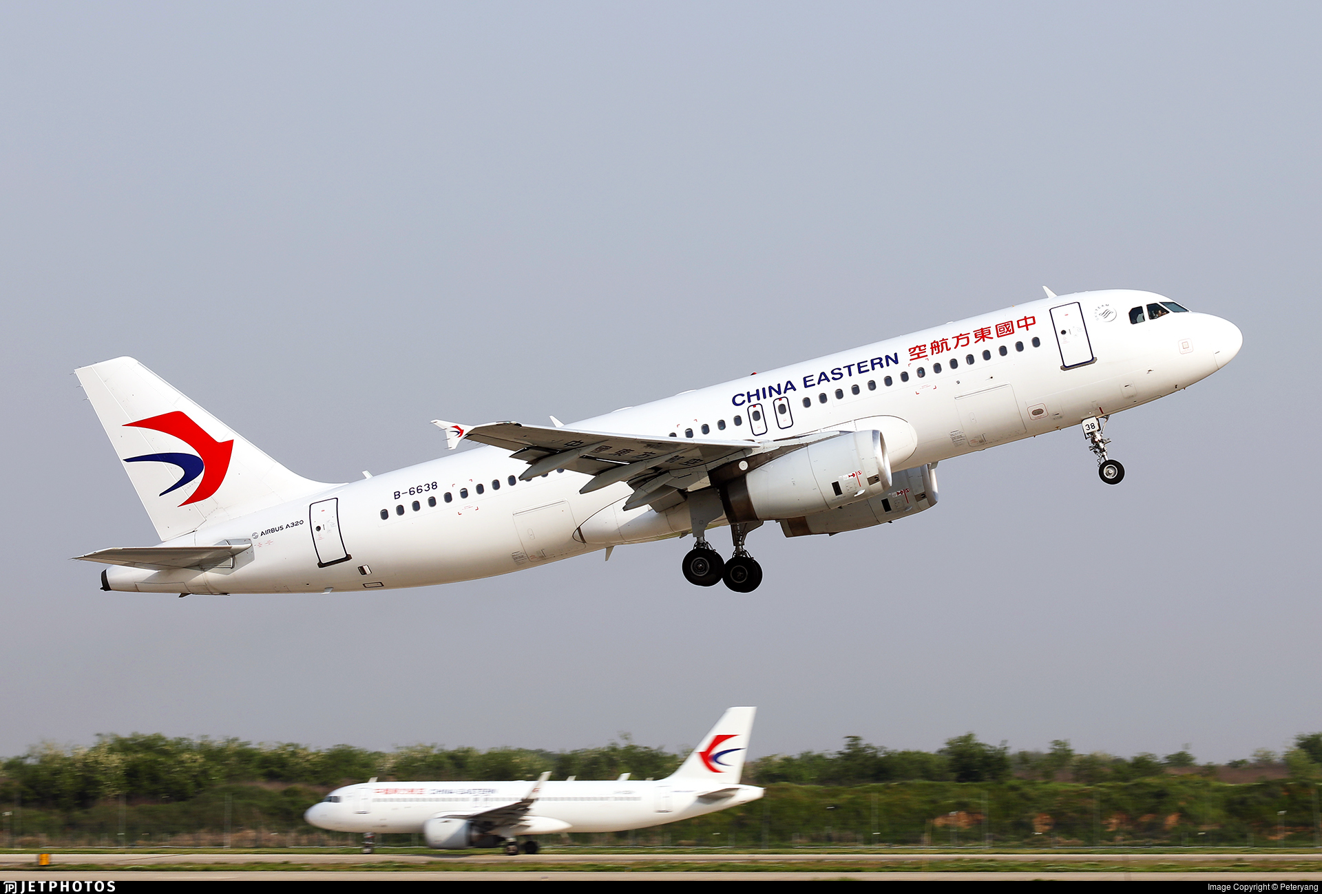 B-6638 - Airbus A320-232 - China Eastern Airlines