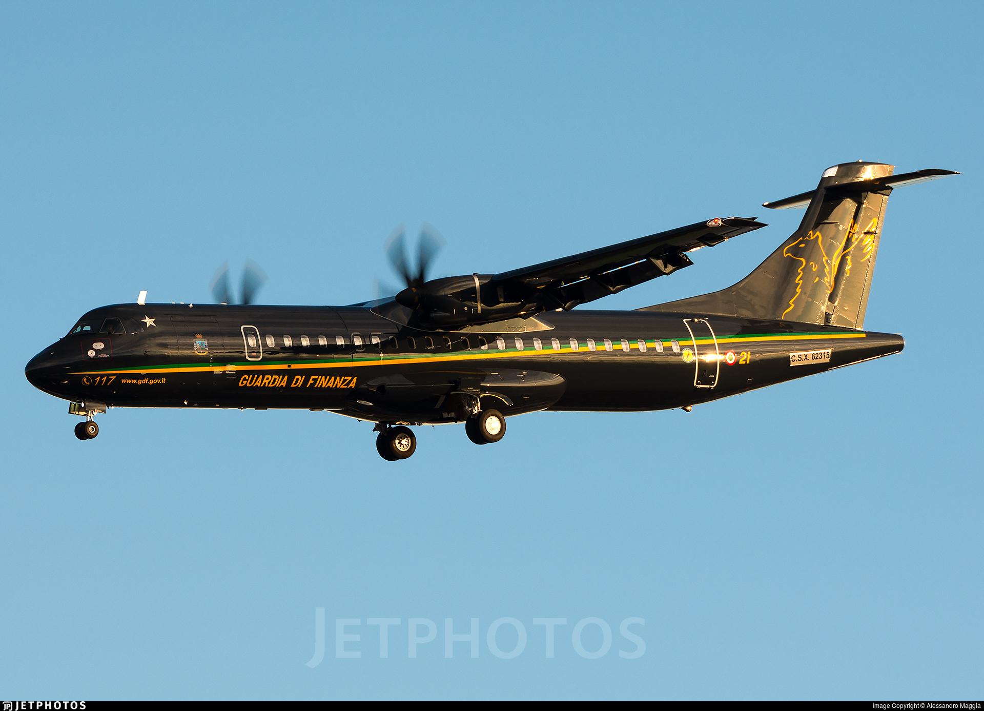CSX62315 - ATR 72-212A(600MP) - Italy - Guardia di Finanza