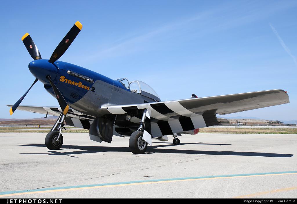 N5460V - North American P-51D Mustang - California Warbirds