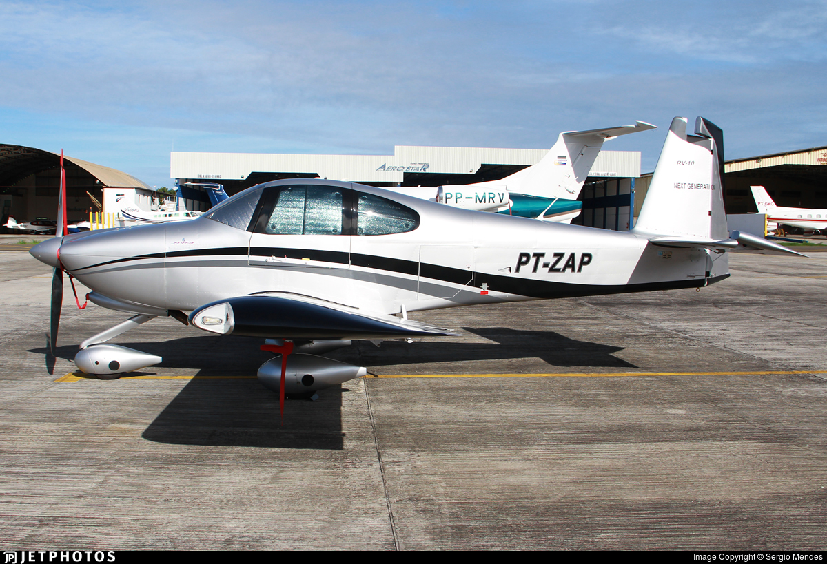 PT-ZAP - Vans RV-10 - Private