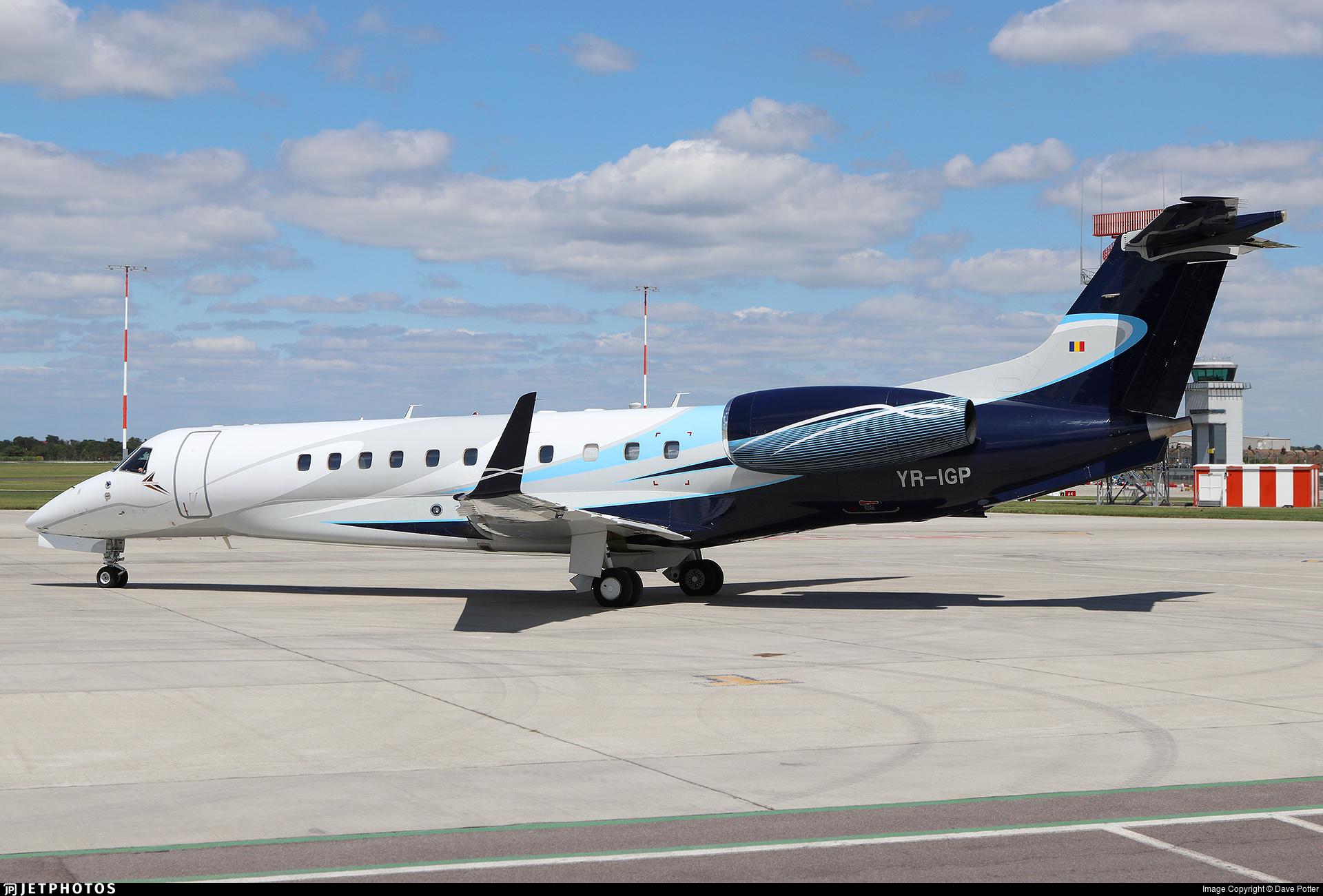 YR-IGP - Embraer ERJ-135BJ Legacy 600 - Toyo Aviation