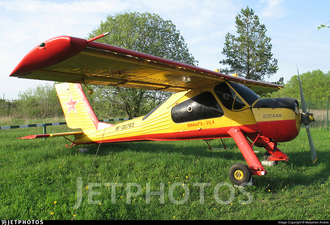 RF-00703 - PZL-Okecie 104 Wilga 35A - Russia - Voluntary Society for Assistance to the Army, Air Force and Navy (DOSAAF)