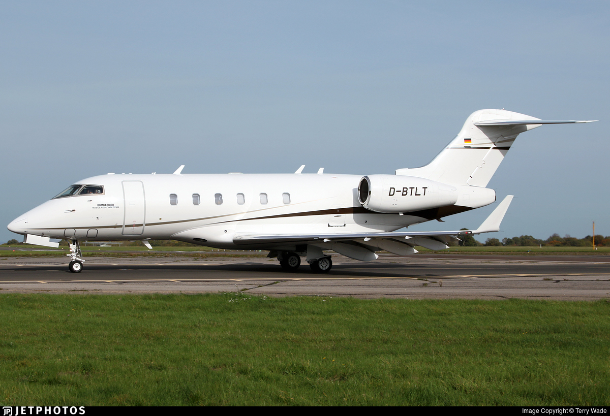 D-BTLT - Bombardier BD-100-1A10 Challenger 300 - MHS Aviation