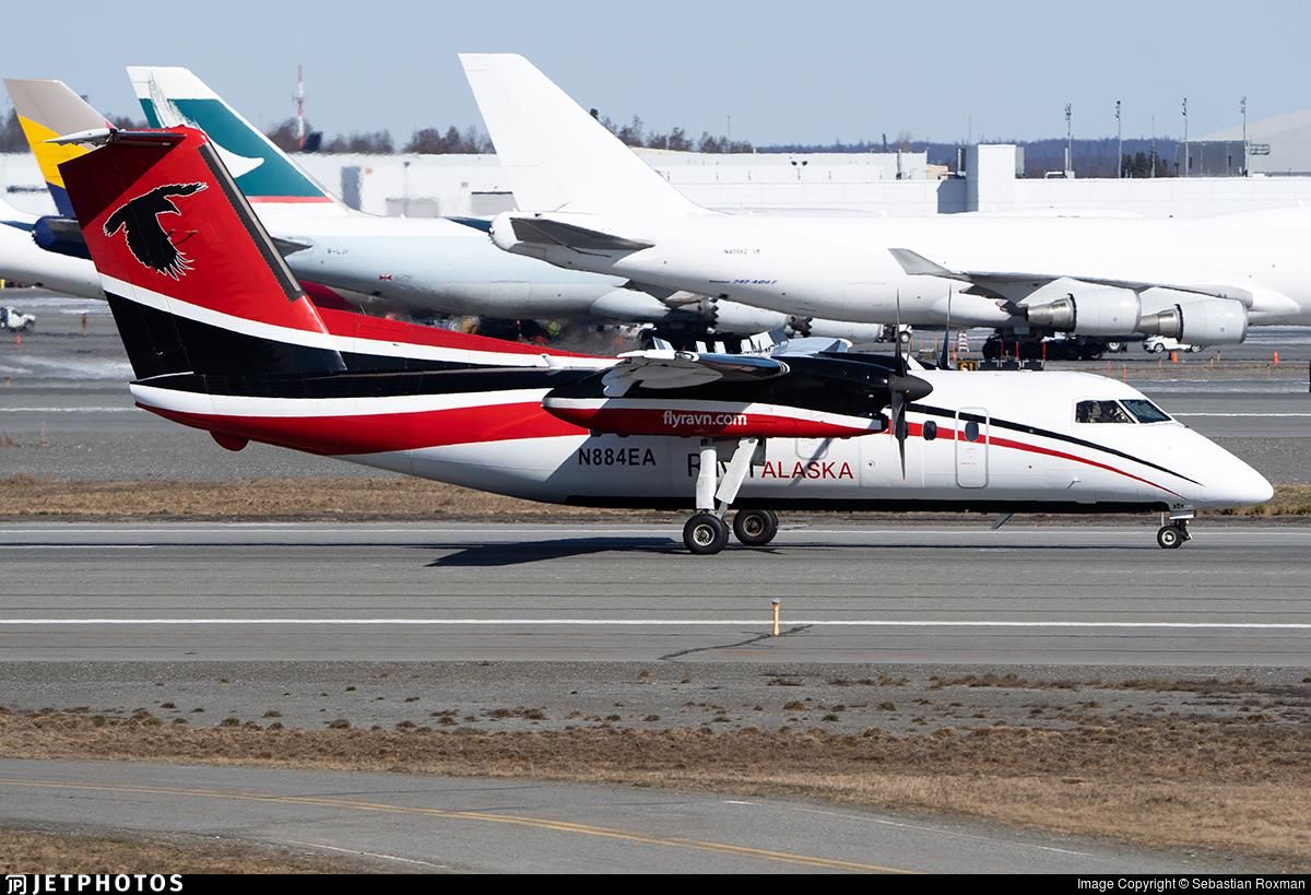 N884EA - Bombardier Dash 8-106 - Ravn Alaska
