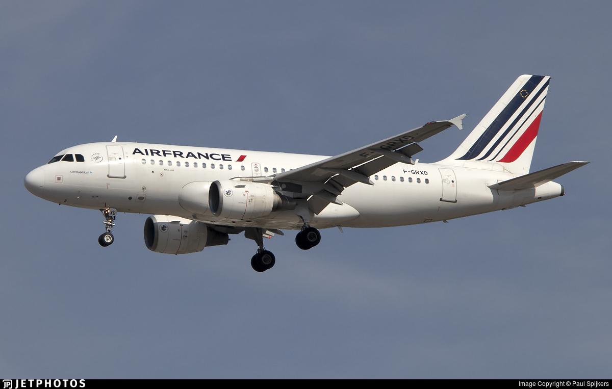 F-GRXD - Airbus A319-111 - Air France