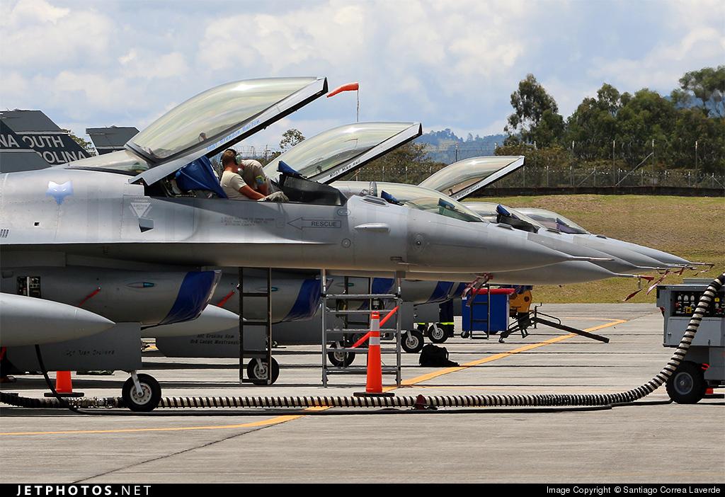 93-0549 - Lockheed Martin F-16CJ Fighting Falcon - United States - US Air Force (USAF)