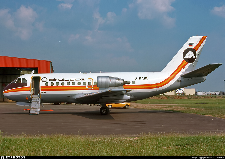 D-BABE - VFW-Fokker VFW-614 - Air Alsace