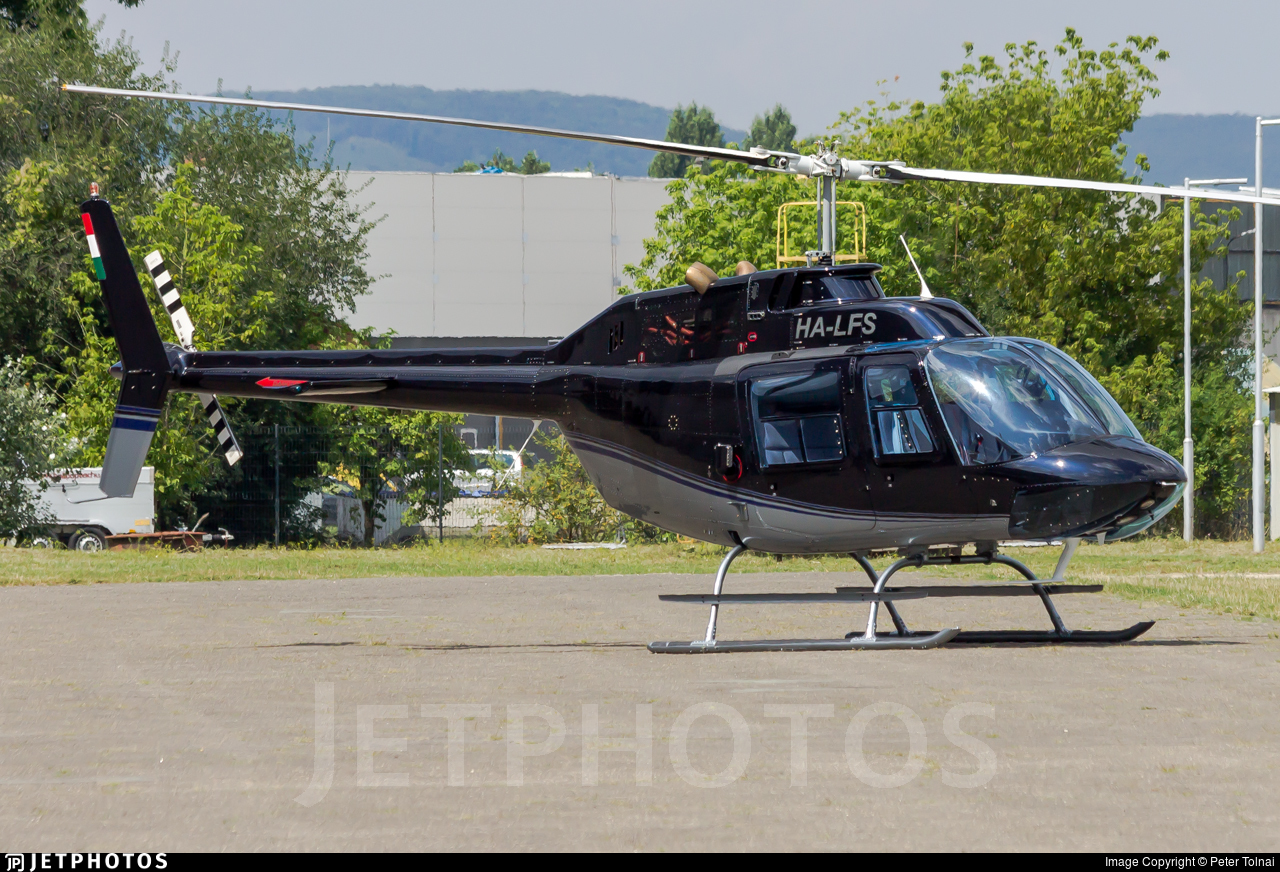 HA-LFS - Agusta-Bell AB-206B JetRanger II - Fly Coop