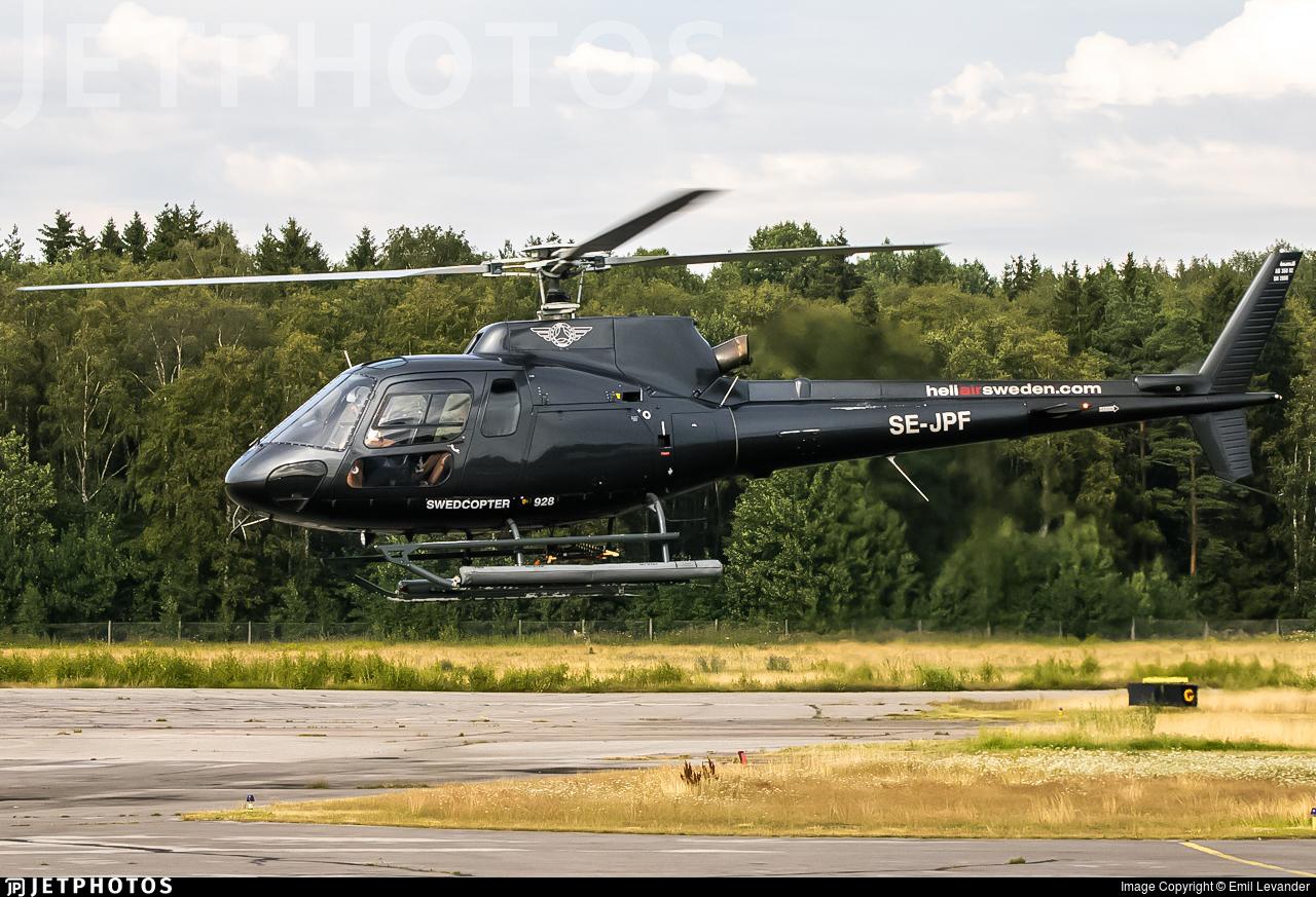SE-JPF - Aérospatiale AS 350B2 Ecureuil - HeliAir Sweden