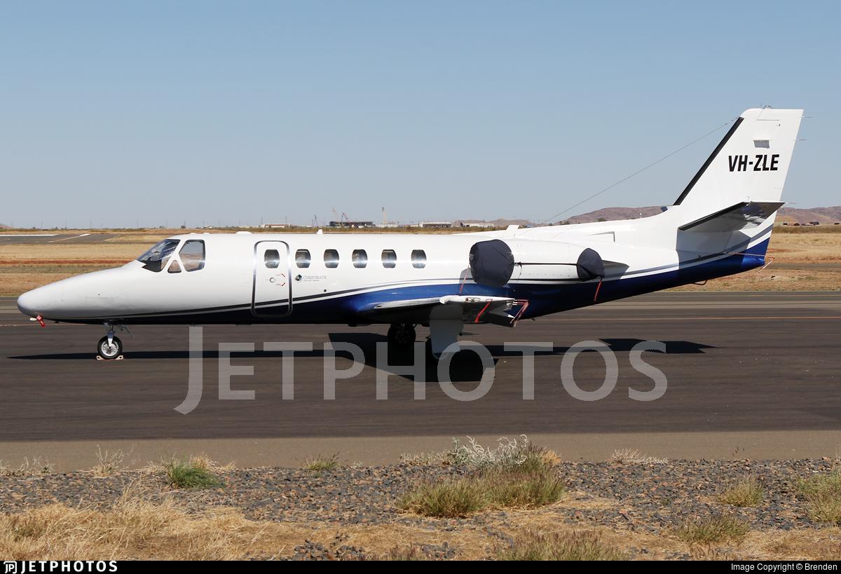 VH-ZLE - Cessna 550 Citation II - Aspen Medical