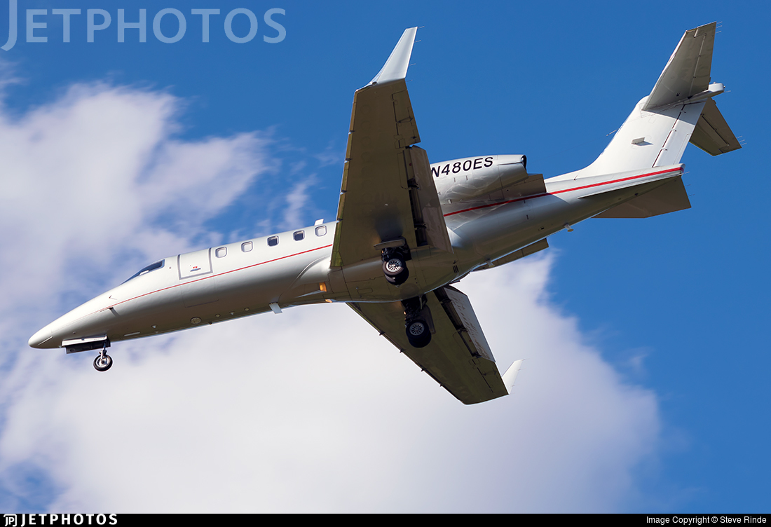 N480ES - Bombardier Learjet 45 - Private