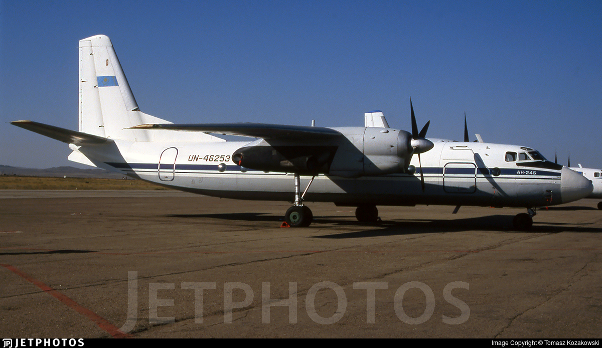 UN-46253 - Antonov An-24B - Tulpar Avia Service