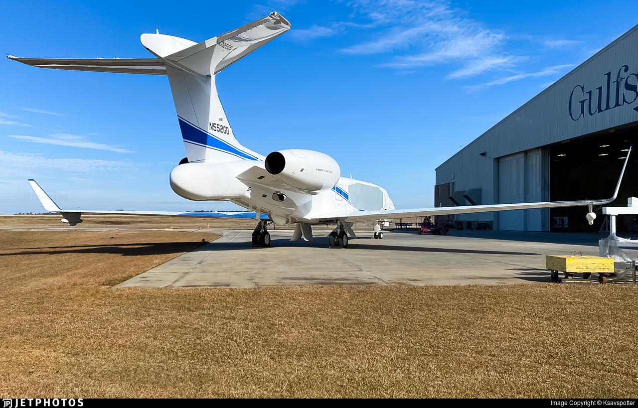 N552GD - Gulfstream G550AEW - Gulfstream Aerospace
