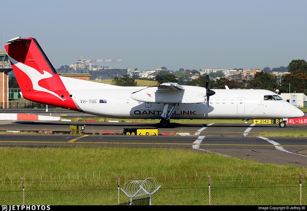 VH-TQE - Bombardier Dash 8-Q315 - QantasLink