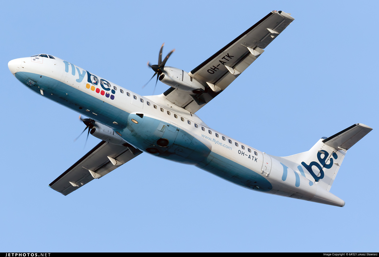 OH-ATK - ATR 72-212A(500) - Flybe Nordic