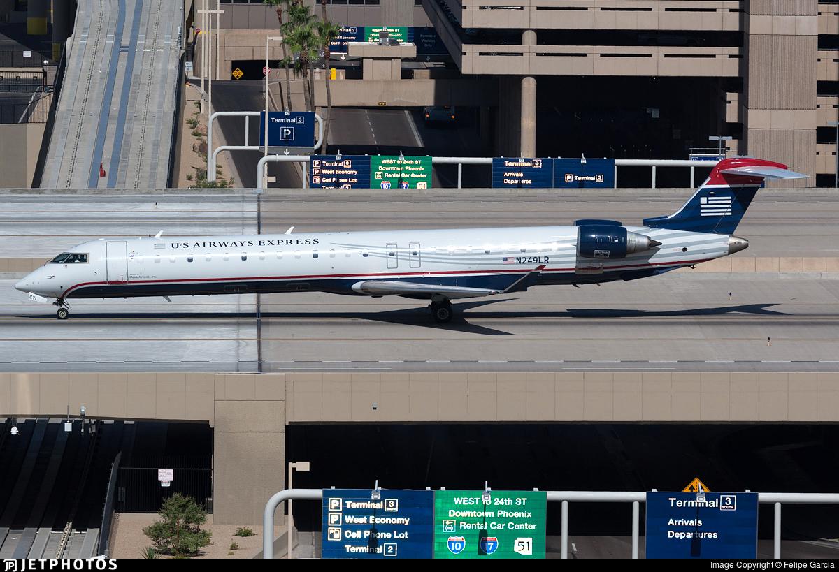 N249LR - Bombardier CRJ-900LR - US Airways Express (Mesa Airlines)