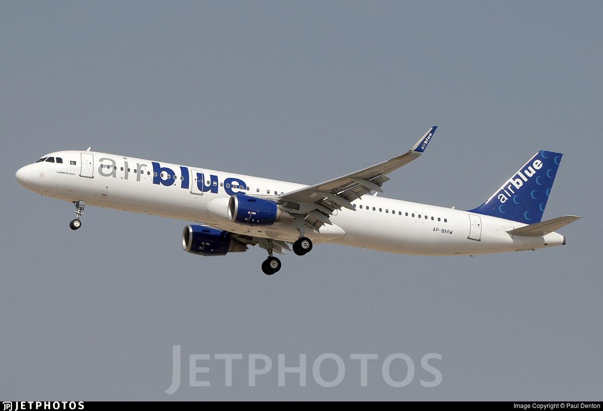 AP-BMW - Airbus A321-211 - AirBlue