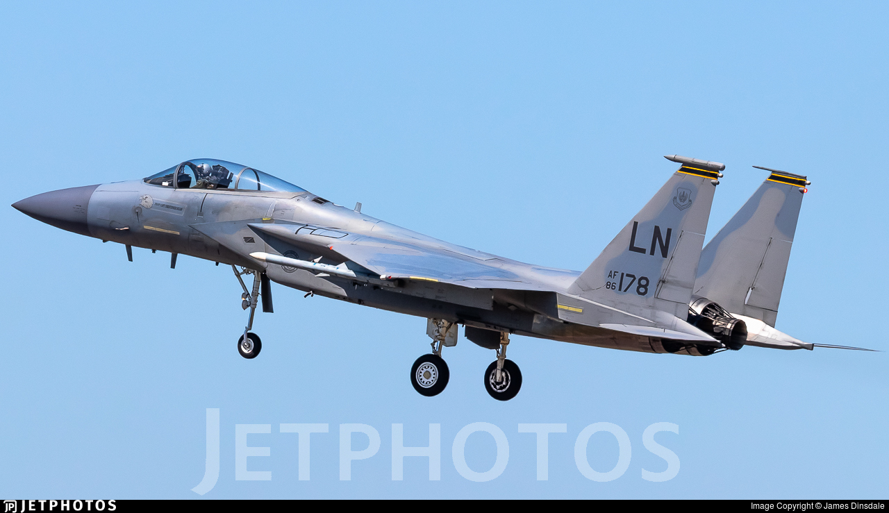 86-0178 - McDonnell Douglas F-15C Eagle - United States - US Air Force (USAF)