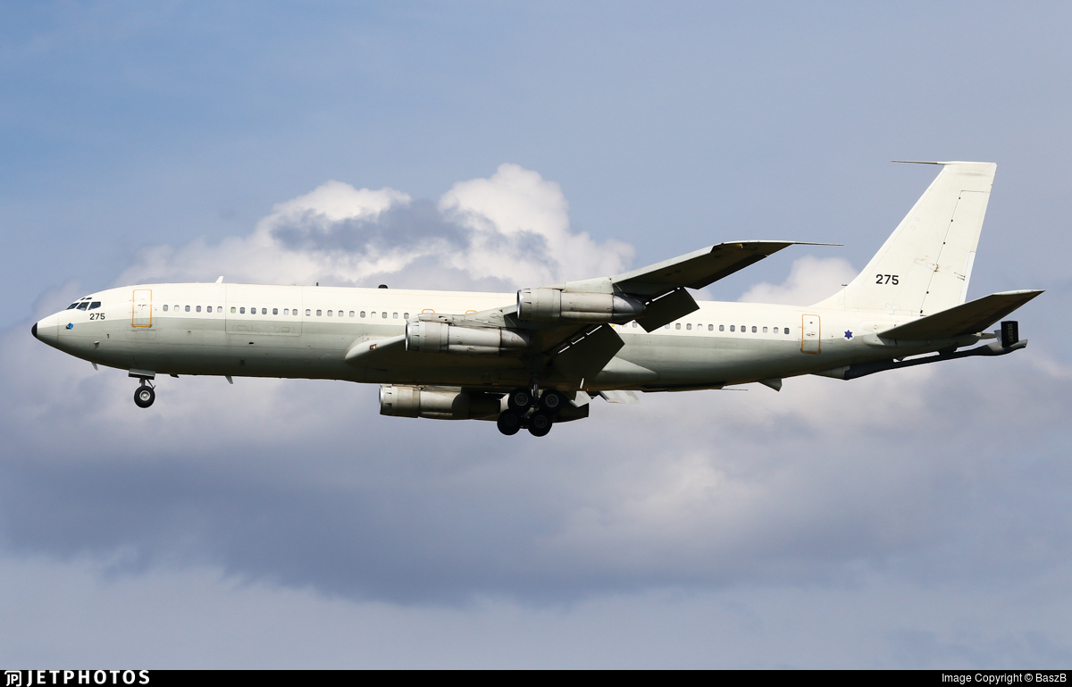 275 - Boeing 707-3P1C Re'em - Israel - Air Force