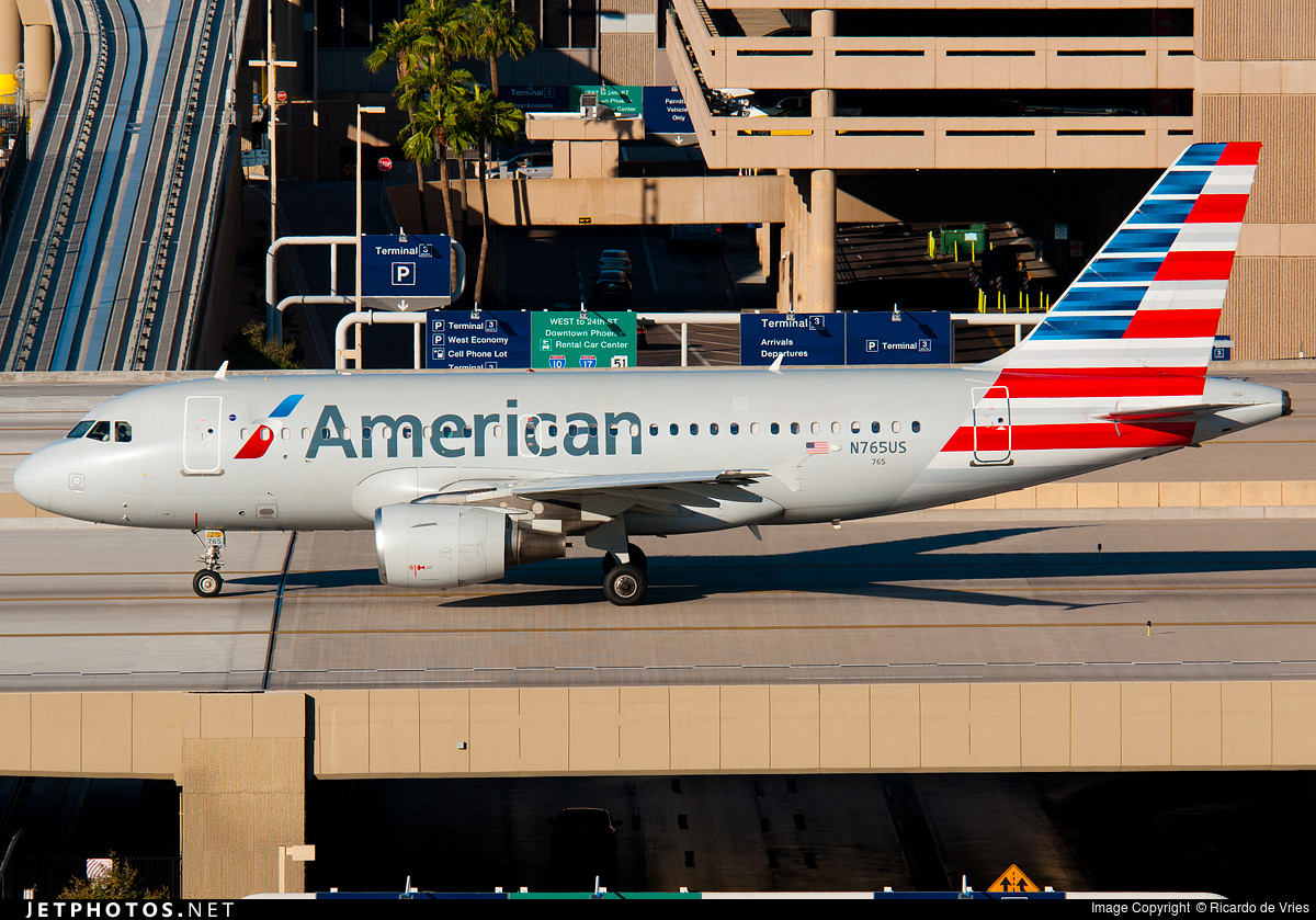 N765US - Airbus A319-112 - American Airlines