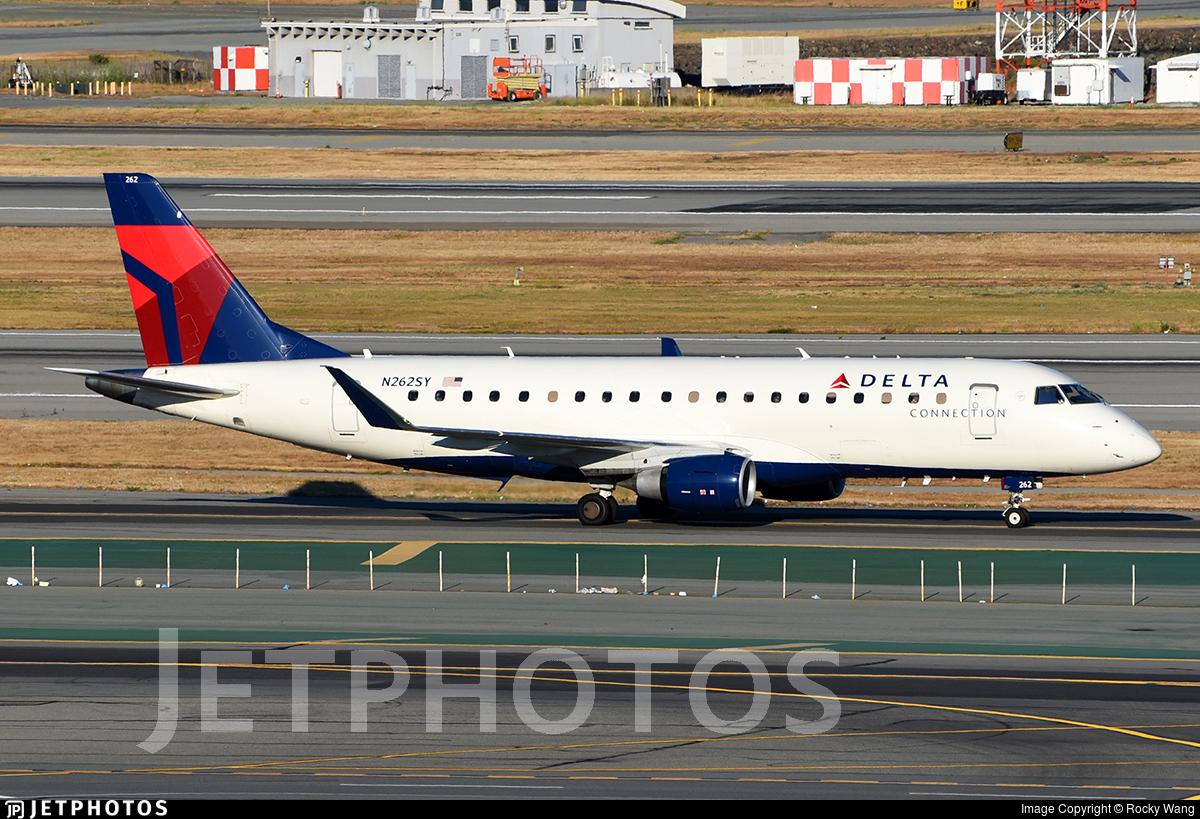 N262SY - Embraer 170-200LR - Delta Connection (SkyWest Airlines)