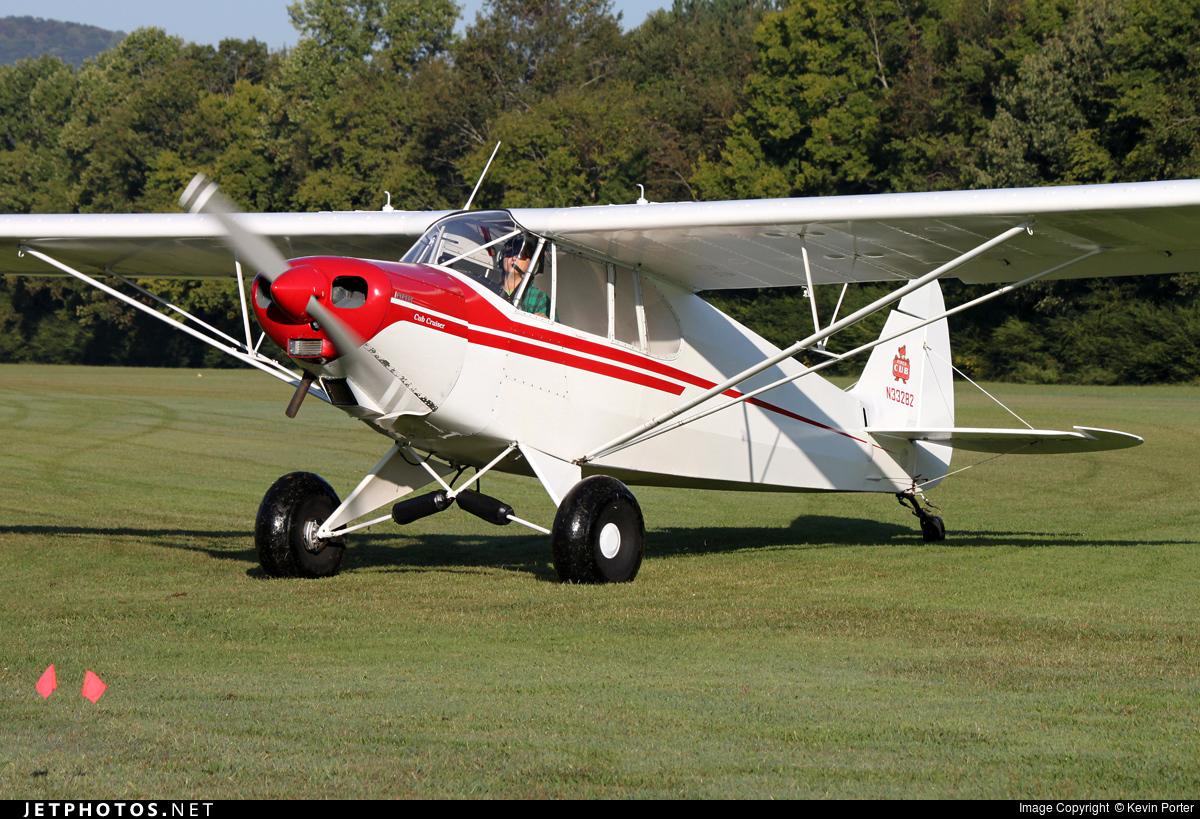 N33282 - Piper J-5A Cub Cruiser - Private