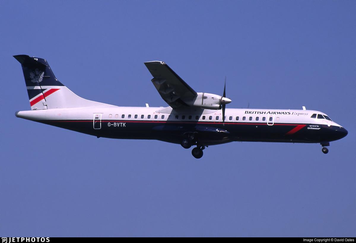 G-BVTK - ATR 72-202 - British Airways Express (Cityflyer Express)