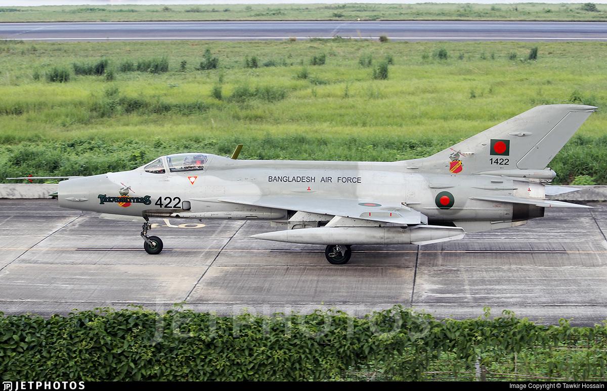 1422 - Chengdu F-7MB - Bangladesh - Air Force