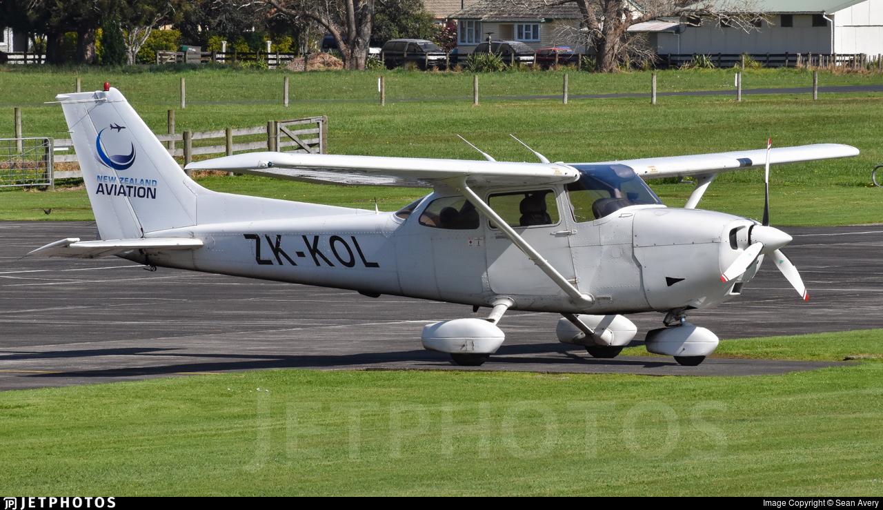 ZK-KOL - Cessna 172S Skyhawk SP - Middle Earth Flying School