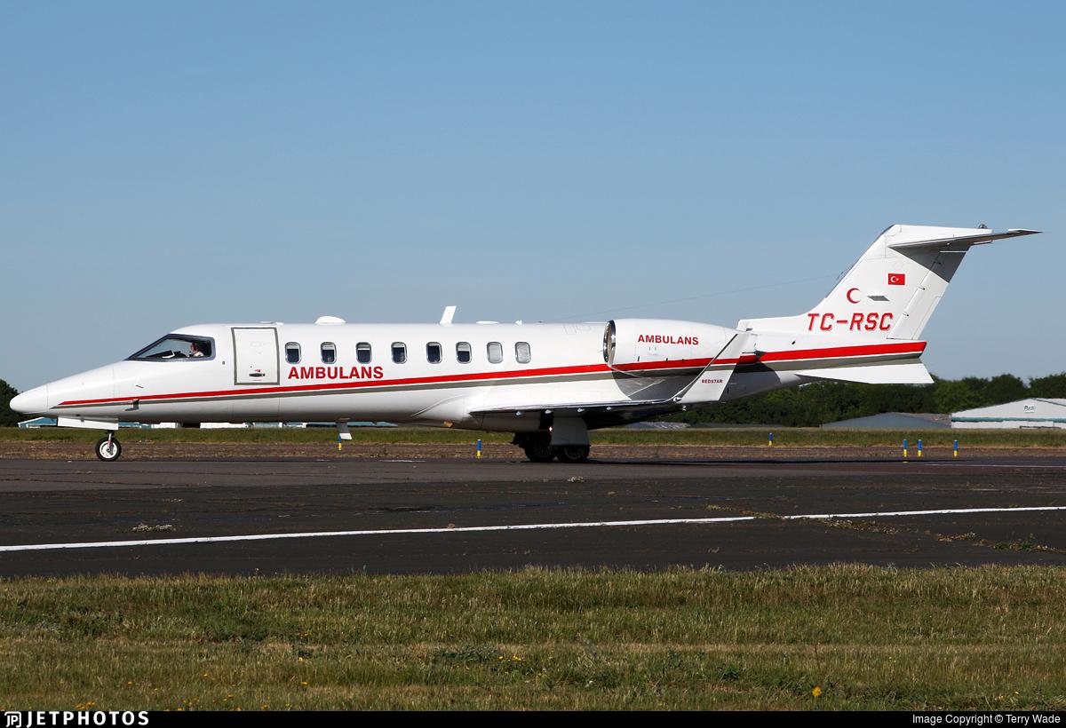 TC-RSC - Bombardier Learjet 45 - Redstar Aviation