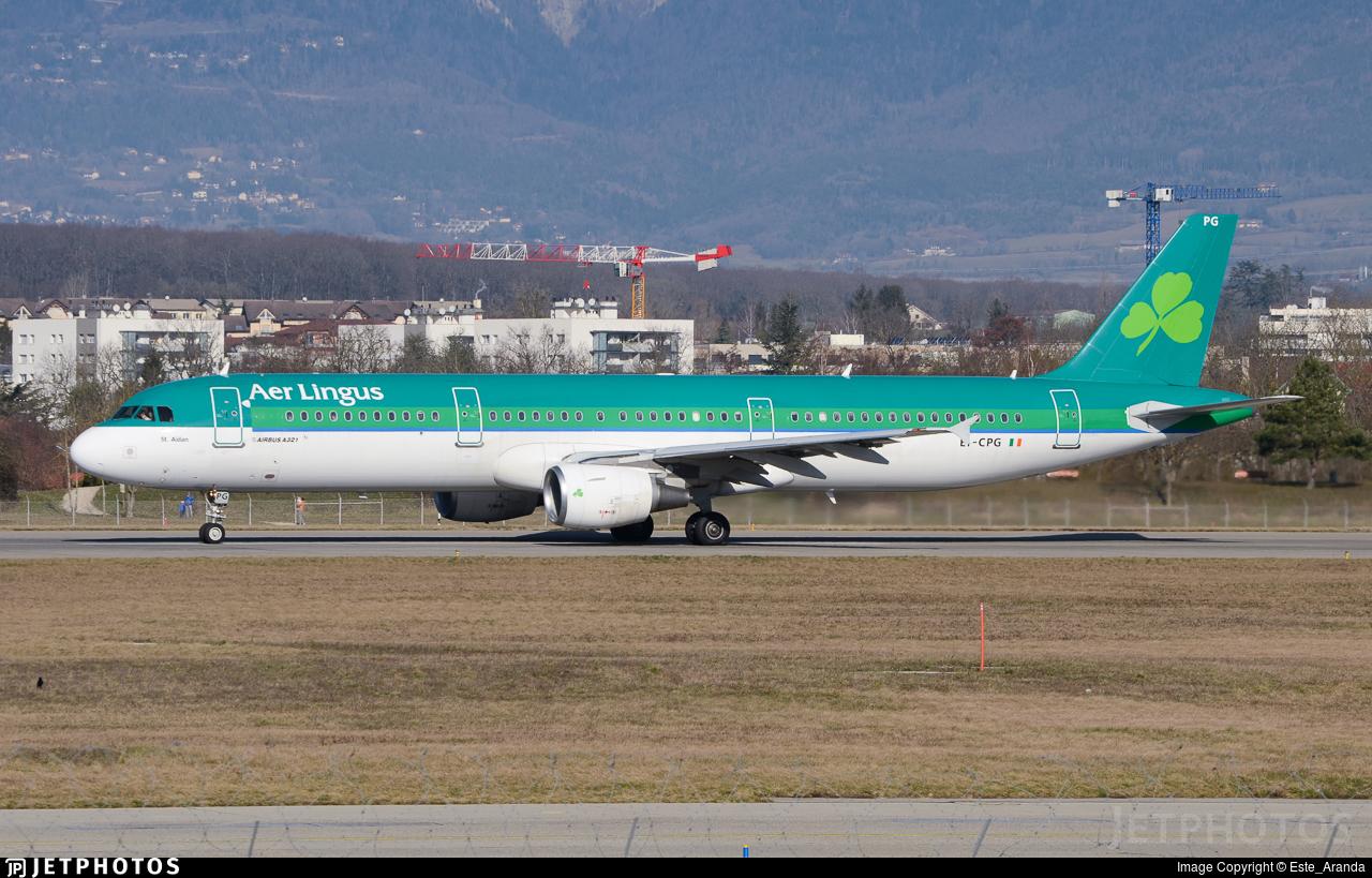 EI-CPG - Airbus A321-211 - Aer Lingus