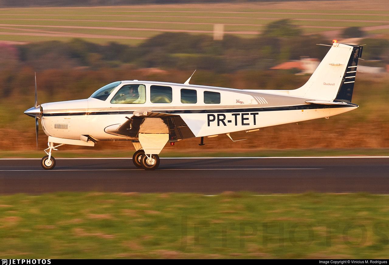 PR-TET - Beechcraft A36 Bonanza - Private