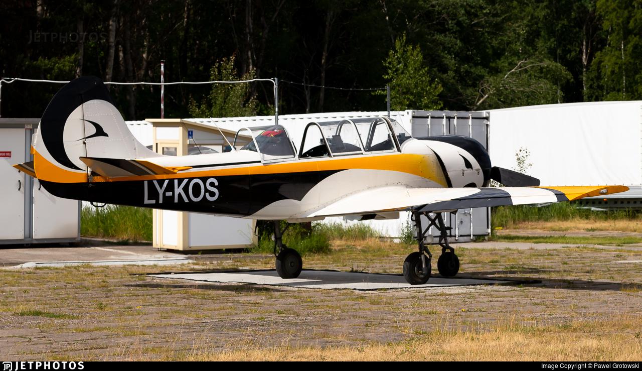 LY-KOS - Yakovlev Yak-52 - Private