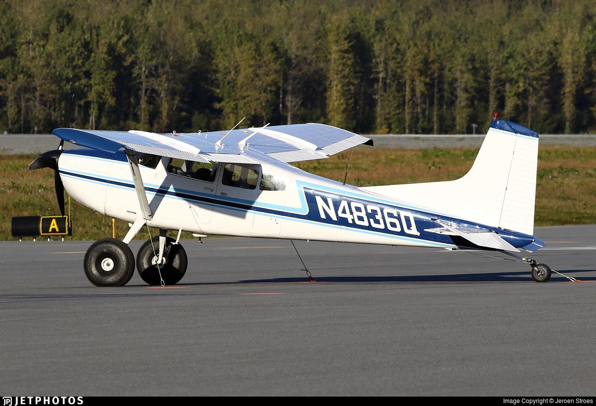 N4836Q - Cessna A185F Skywagon - Private