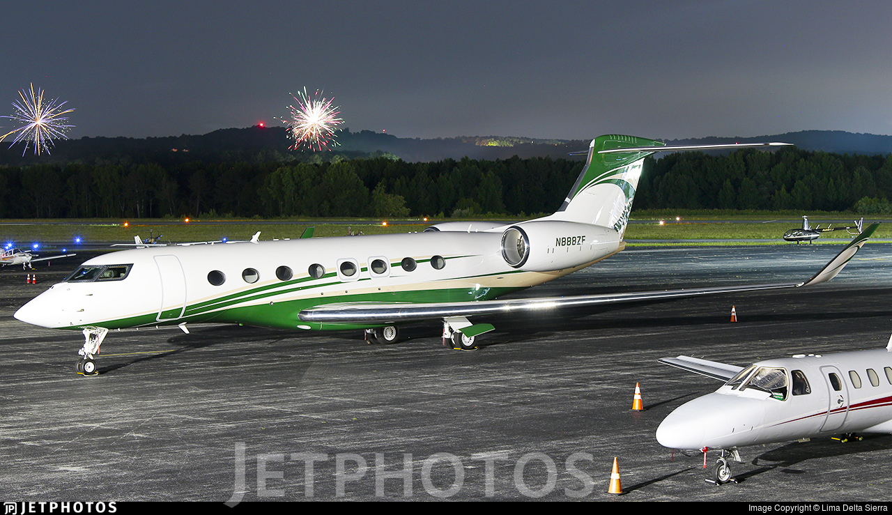 N888ZF - Gulfstream G650ER - Private