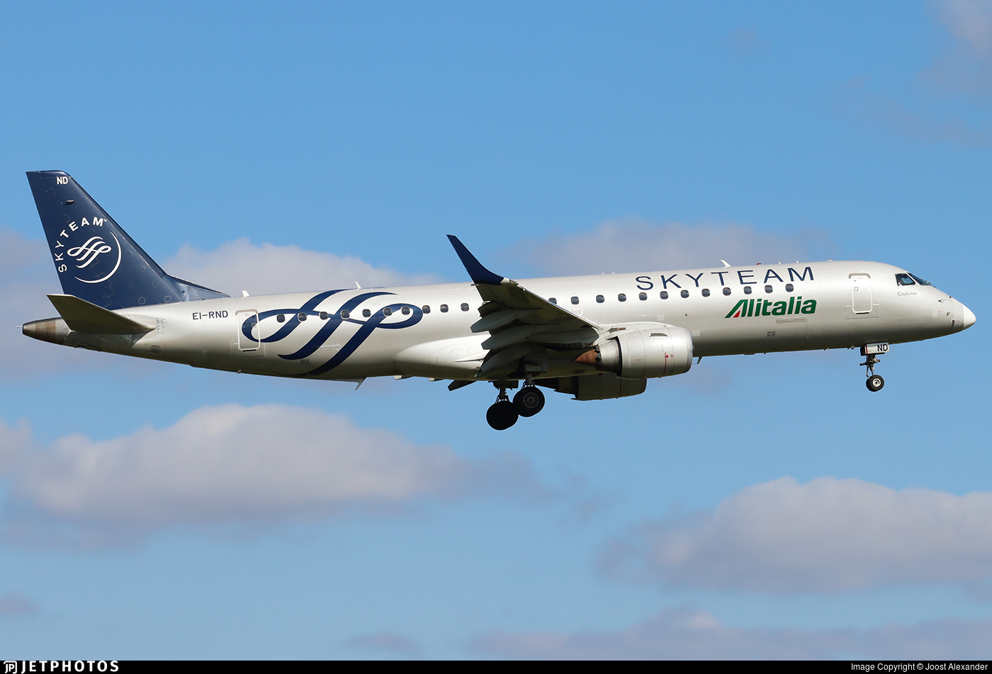 EI-RND - Embraer 190-100STD - Alitalia CityLiner
