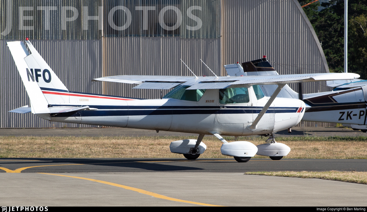 ZK-NFO - Cessna 152 - New Zealand International Commercial Pilot Academy