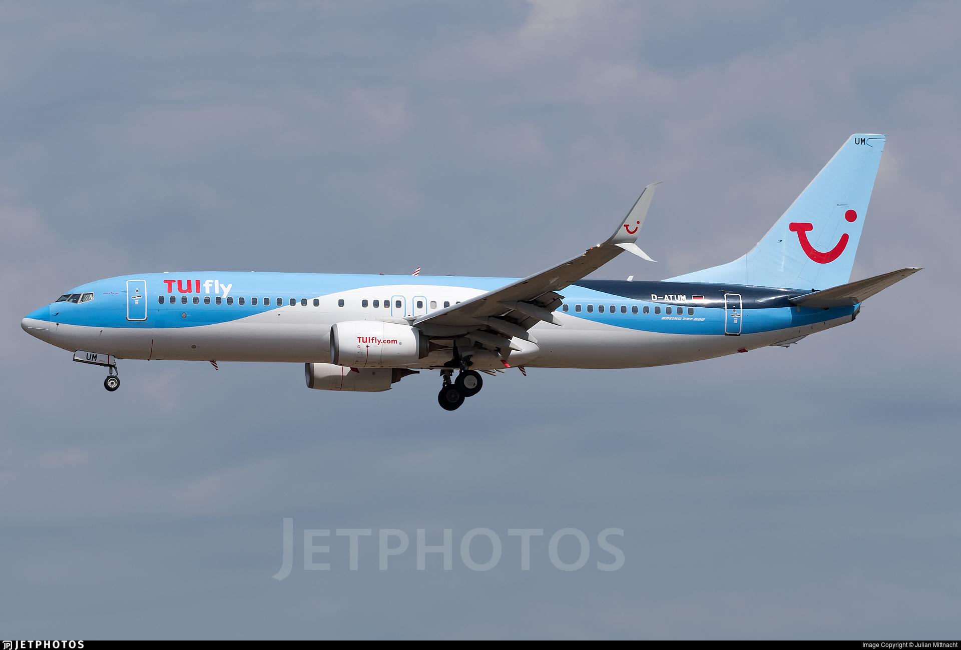D-ATUM - Boeing 737-8K5 - TUIfly