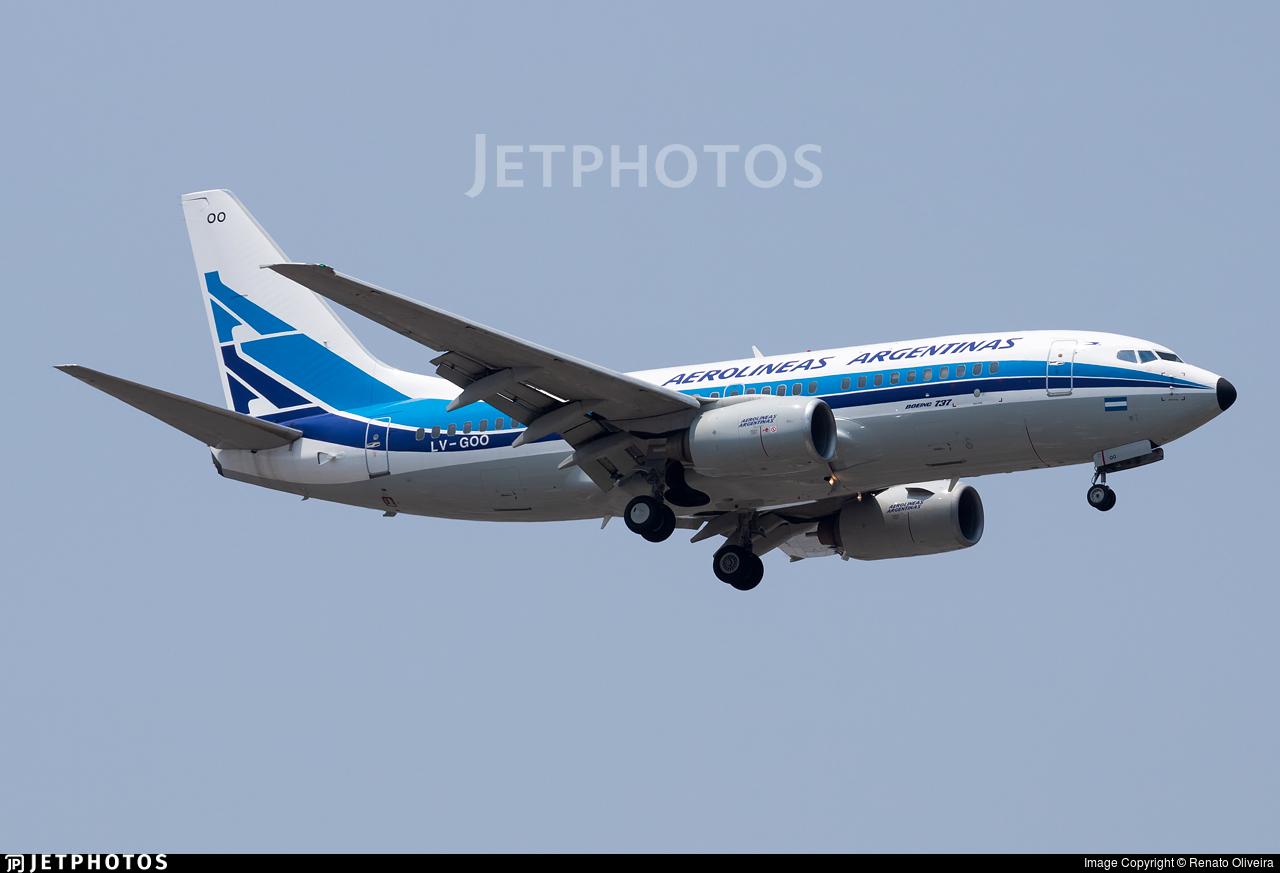 LV-GOO - Boeing 737-7BD - Aerolíneas Argentinas