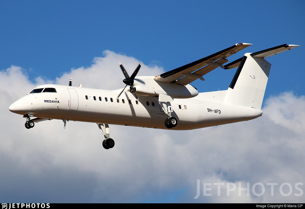 9H-AFD - Bombardier Dash 8-Q315 - MedAvia