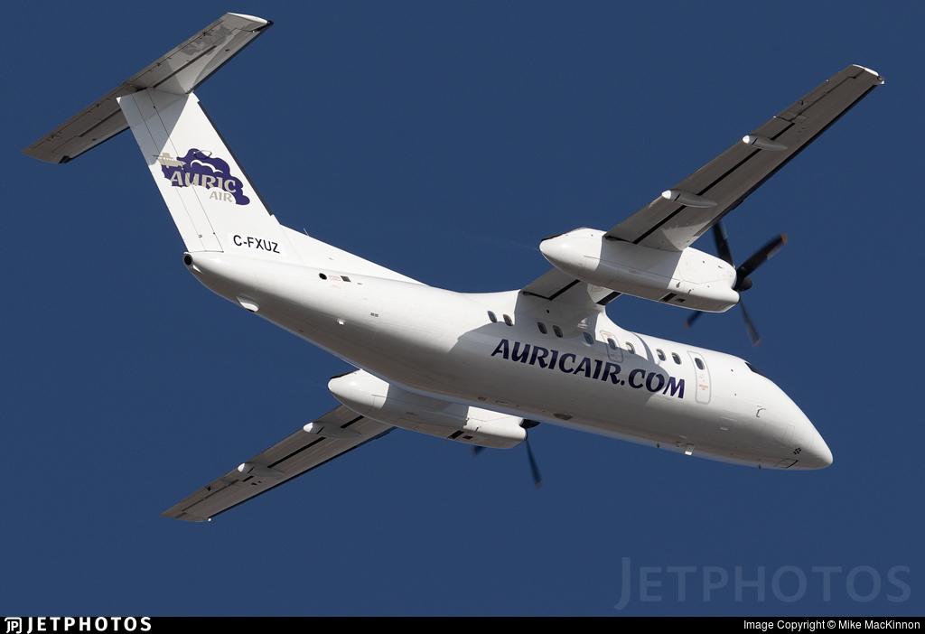 C-FXUZ - Bombardier Dash 8-103 - Auric Air