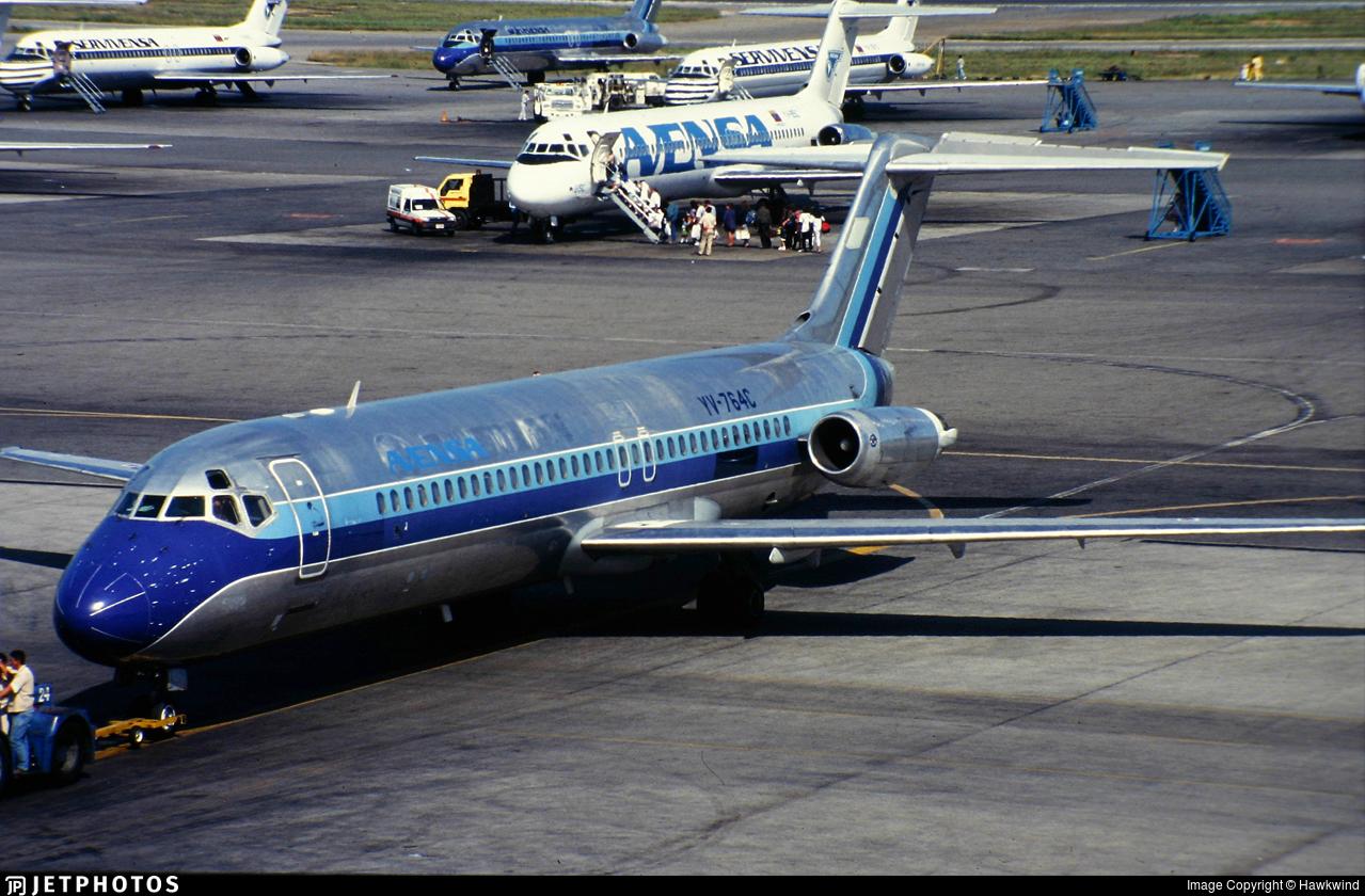 YV-764C - McDonnell Douglas DC-9-31 - AVENSA - Aerovías Venezolanas
