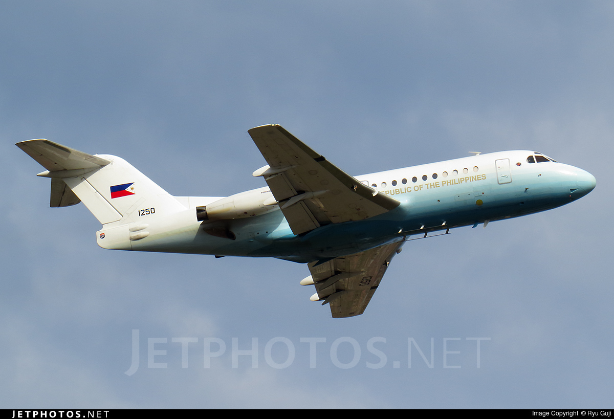 RP-1250 | Fokker F28-3000 Fellowship | Philippines - Air ...