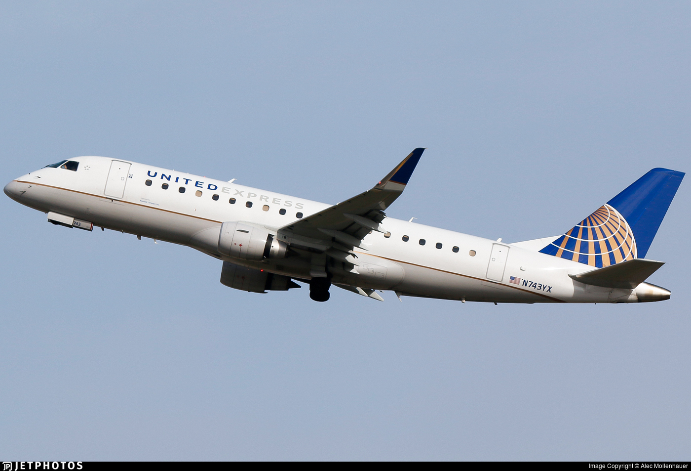 N743YX - Embraer 170-200LR - United Express (Republic Airlines)
